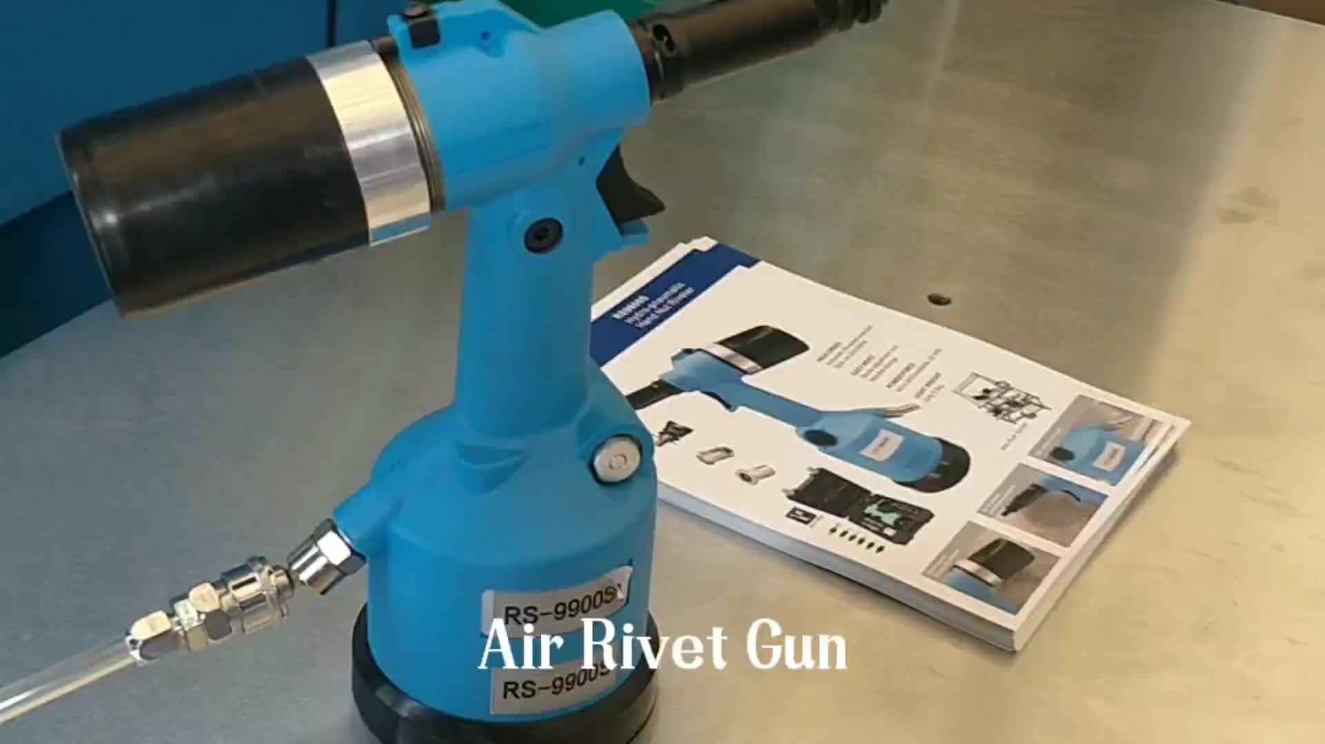 Top Quality RS 9900S M3- M12 Automatic Pneumatic Riveting Nut Gun