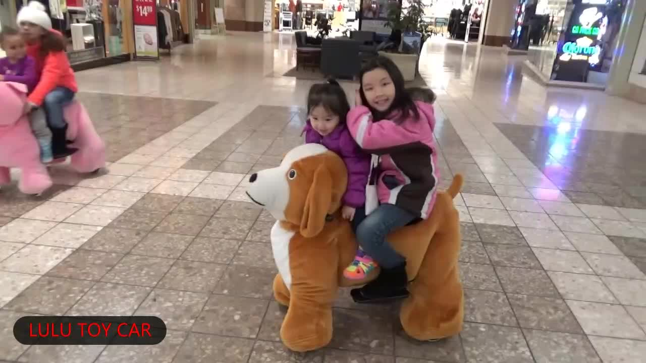 Happy mechanical rides on animals toy