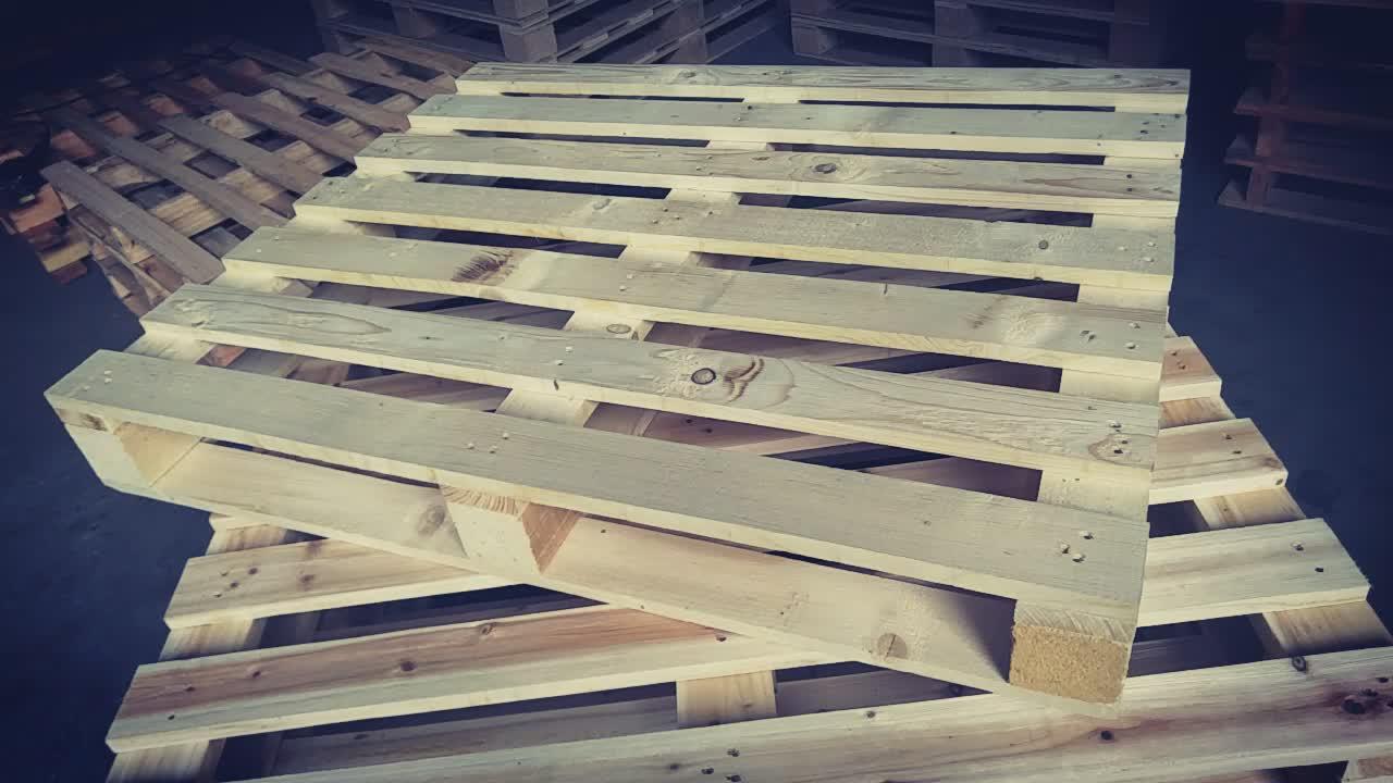 Heavy Duty Epal Euro Solid Wooden Pallet Guangzhou ...