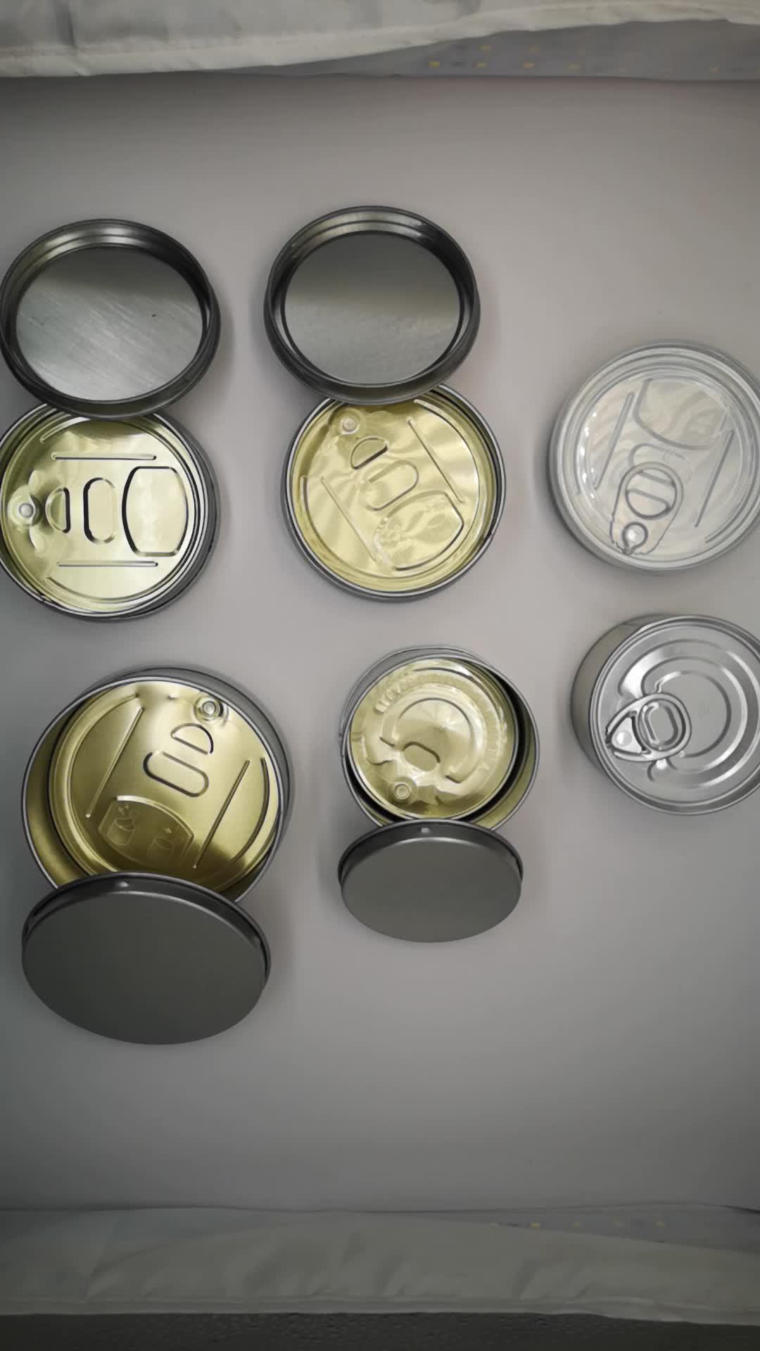 Бесплатный дизайн пользовательская печатная этикетка пластиковая жестяная банка для сухого хранения трав герметичная жестяная банка