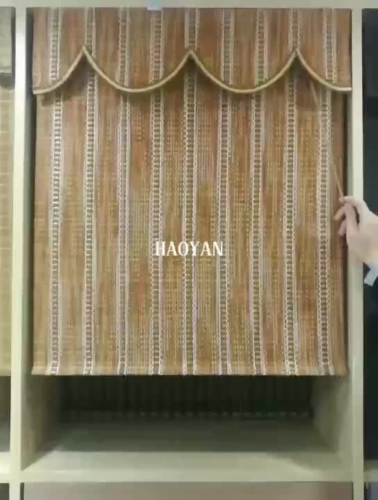 High quality roman style bamboo folding up blinds