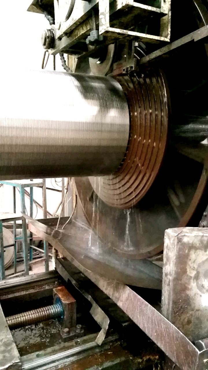 welded 2mm slot Stainless Steel Wedge Wire Drum Johnson Screen coanda curved surface water treatment Screen Tube
