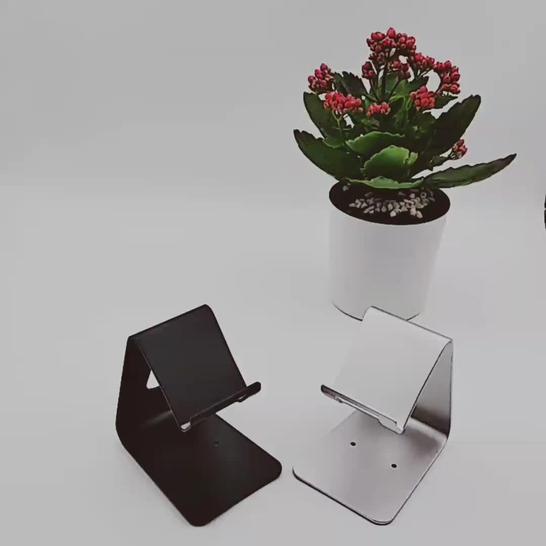 Produsen Langsung Bracket Ponsel Kecil dan Ringan Folding Bracket Malas Desktop Tablet Bracket
