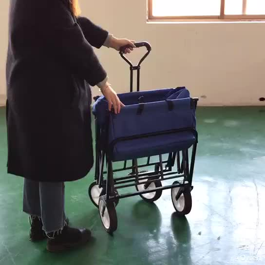 Collapsible Folding Outdoor Beach Trolley