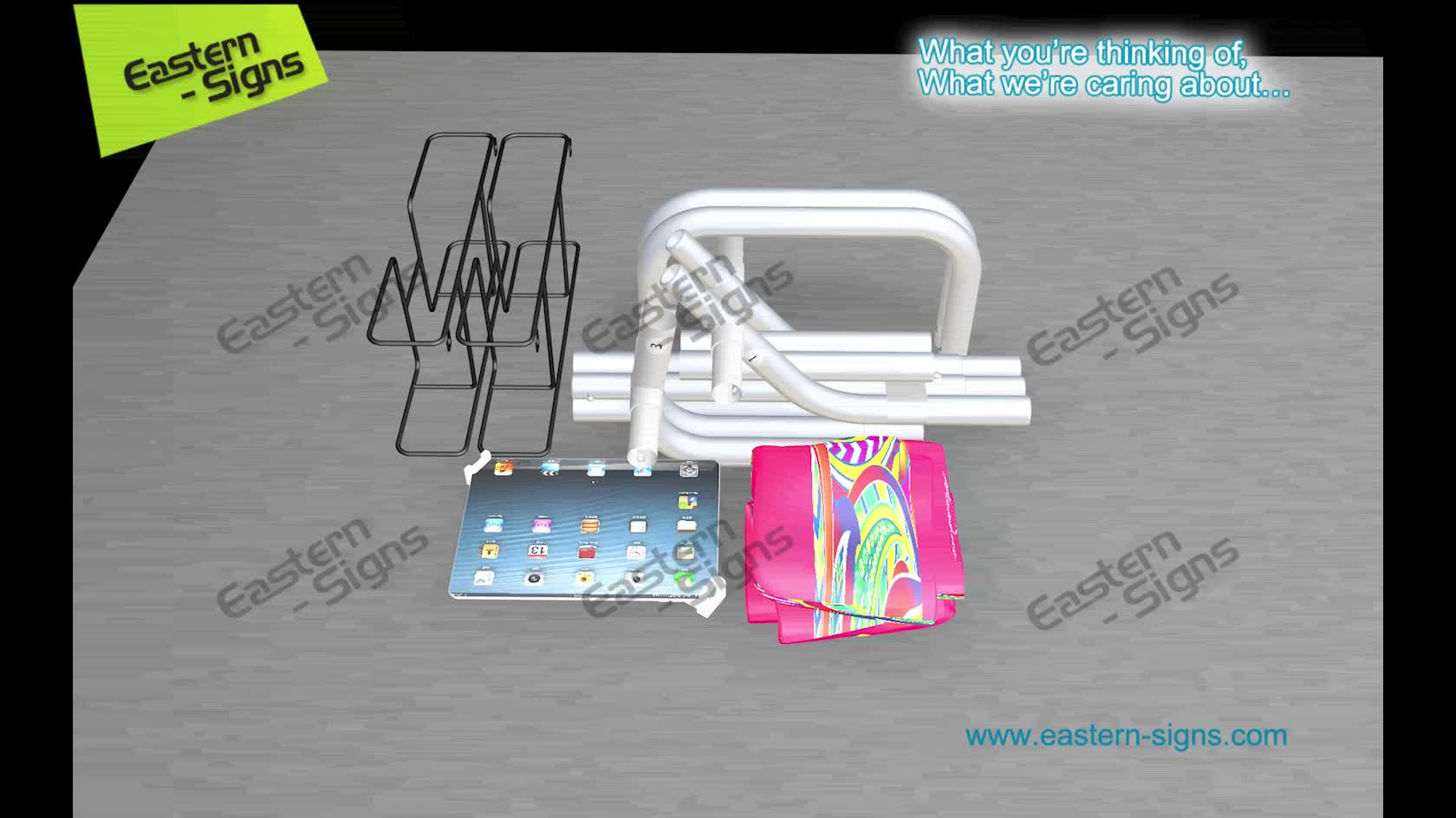 Portable Assembling Tablet Stand Photo Booth Sharing Station Kiosk stand