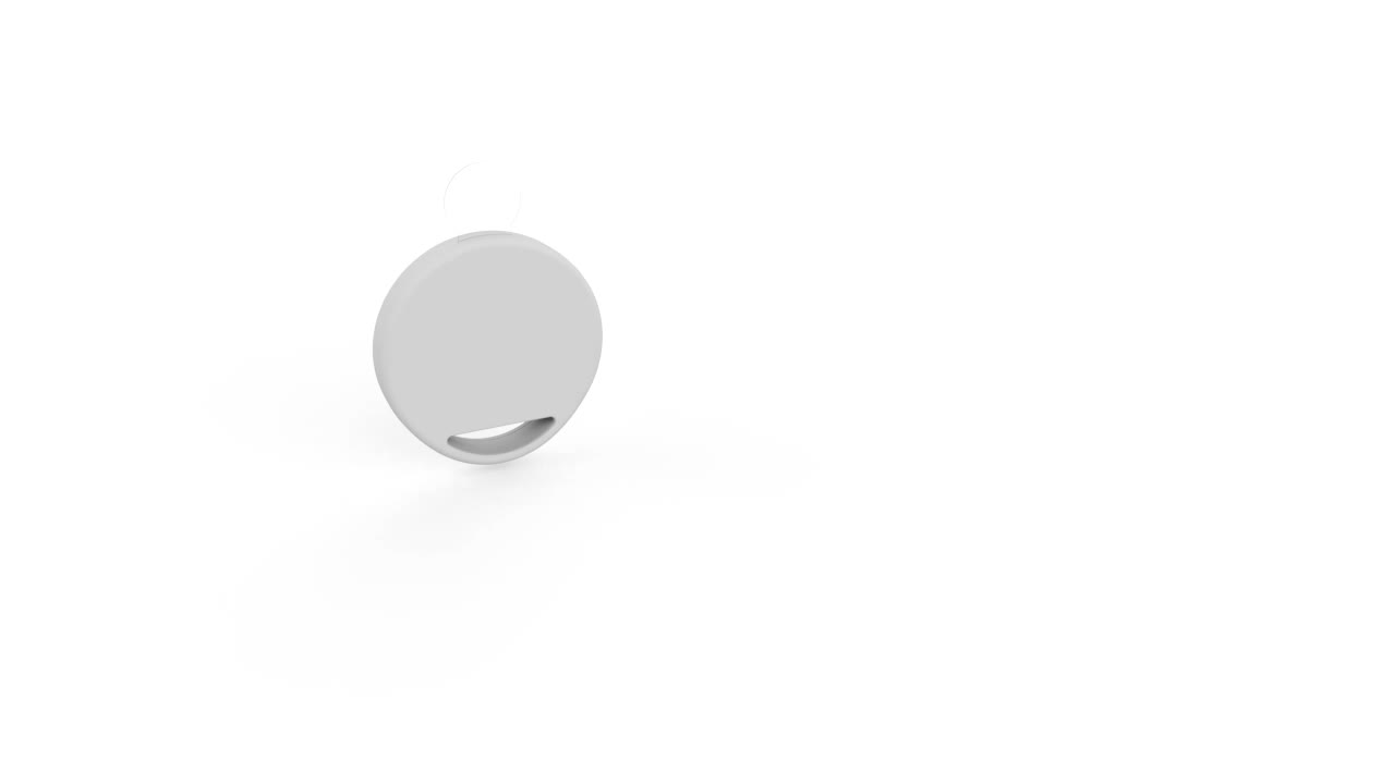 Keychain smart id tag smallest low cost proximity ble beacon sticker bluetooth ibeacon