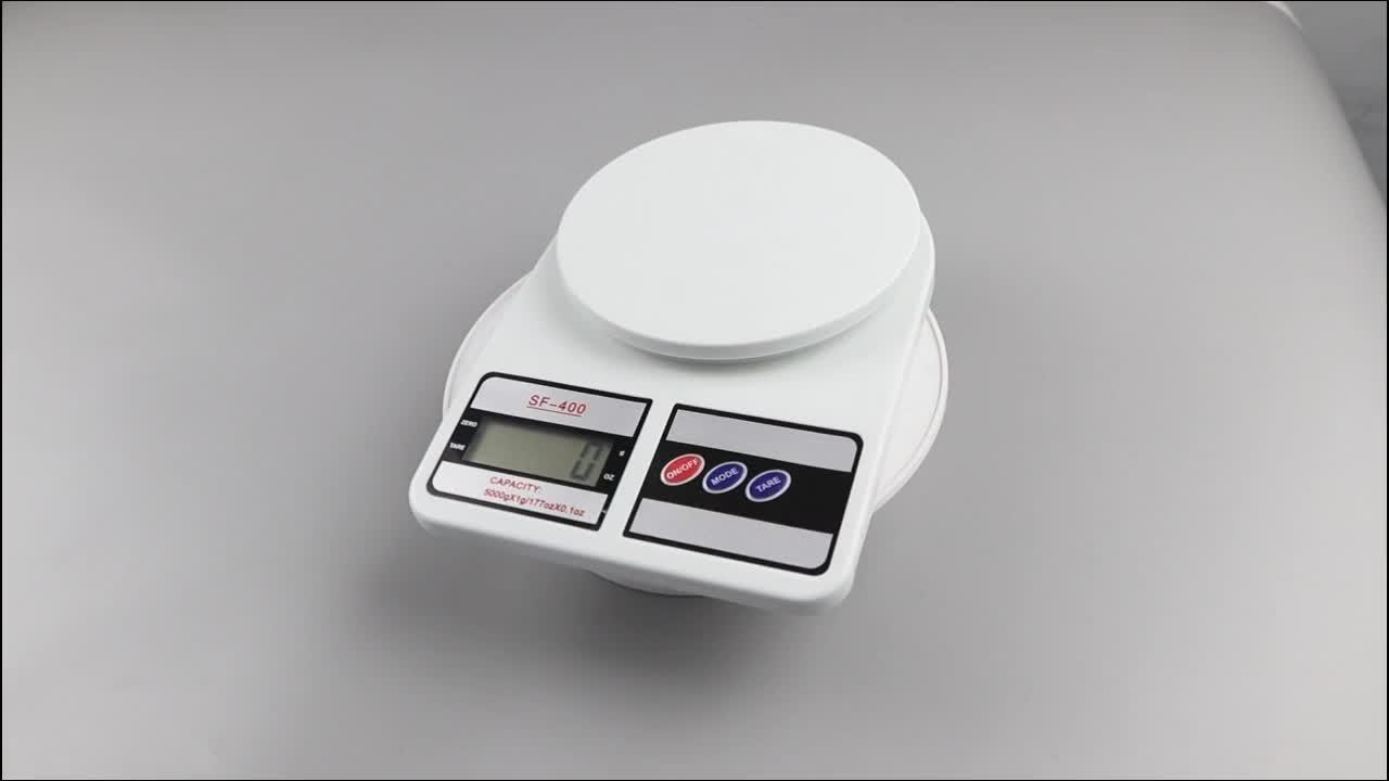 Sf-400 мини электронные кухонные весы портативные цифровые Взвешивание еды