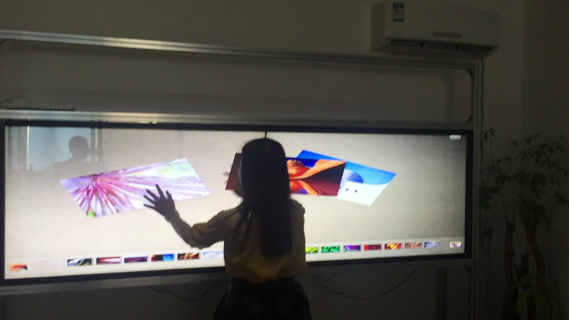 Multi IR Touch Frame On 32 43 55 65 75 Inch TV / Monitor / LED Screen