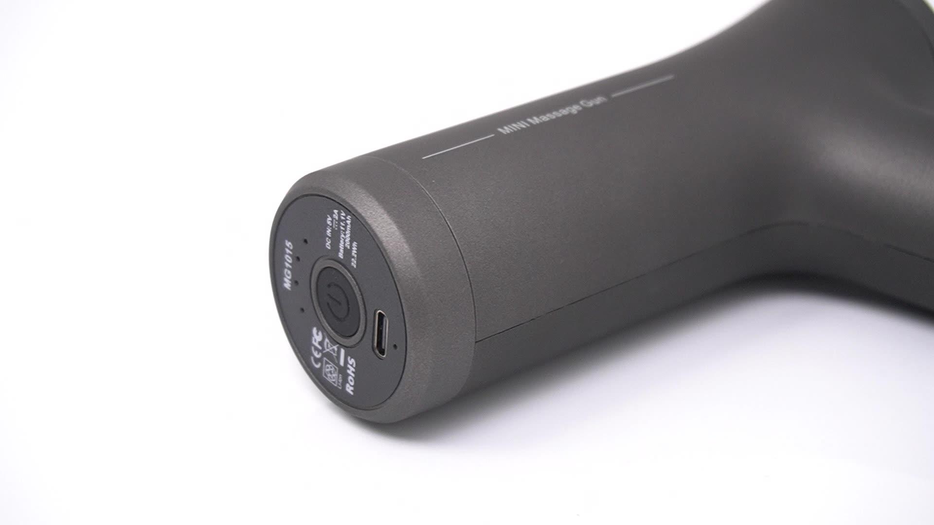 Cincom Brand Muscle Deep Tissue 2020 Mini Brushless Lcd Percussion Massager Cordless Dropship Vibration  Massage Gun