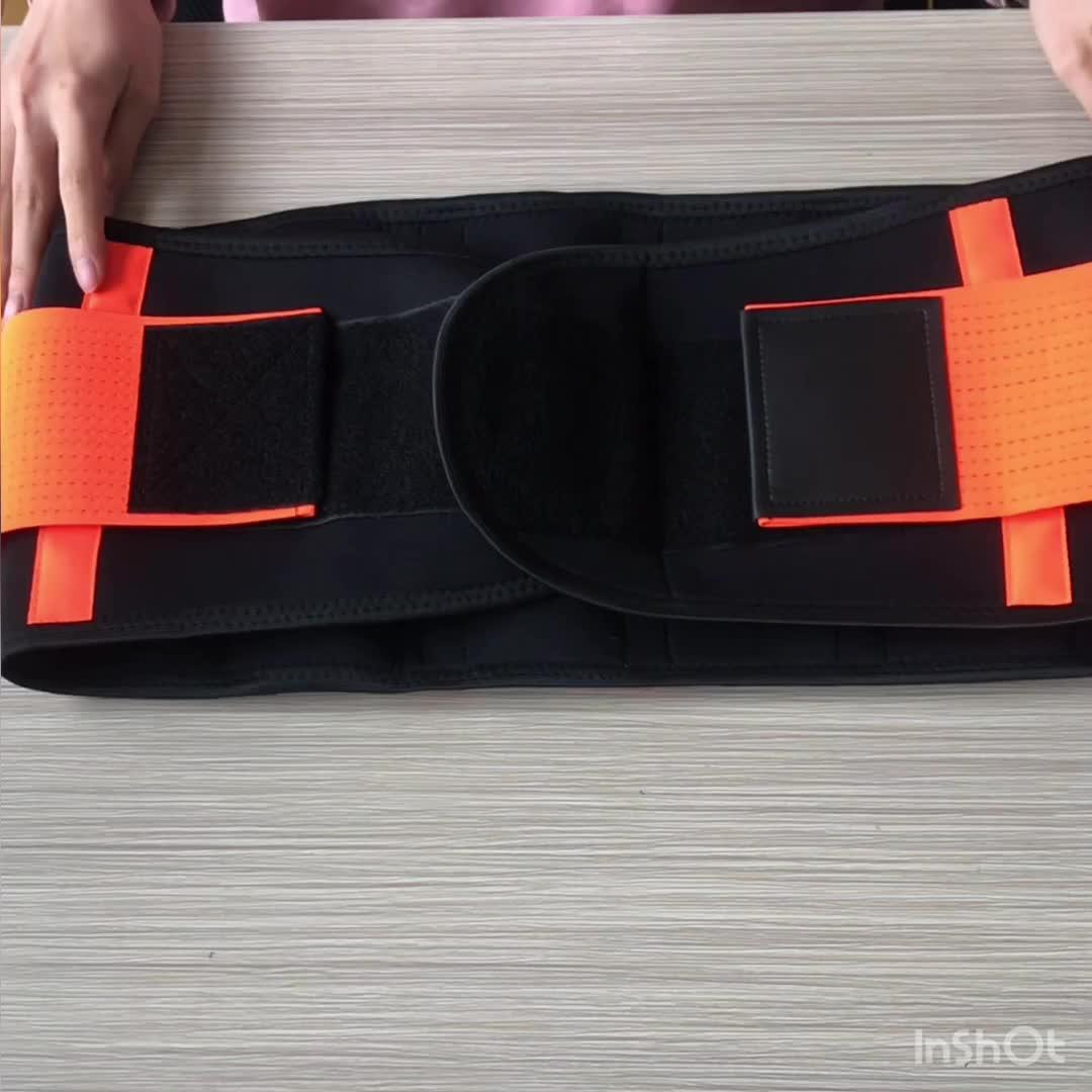 2020 new Trimmer Back Support Waist Slimming Belt For Exercise Body Men Women Suitable