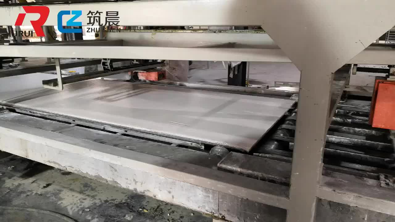 High quality building material fibre cement board mgo panel making machinery