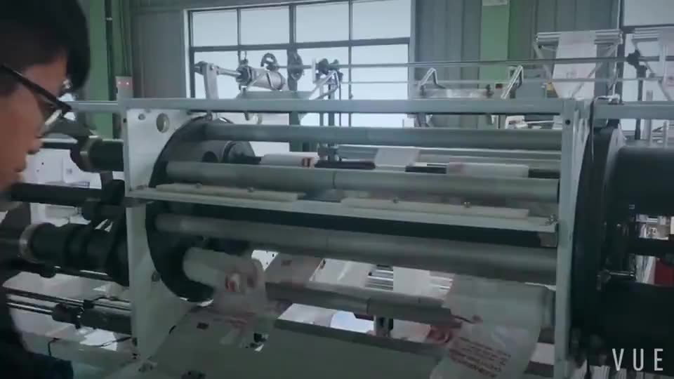 Automatic high speed machine make disposable garbage/trash/rubbish plastic bags machine on roll PE PP rolling bag making machine