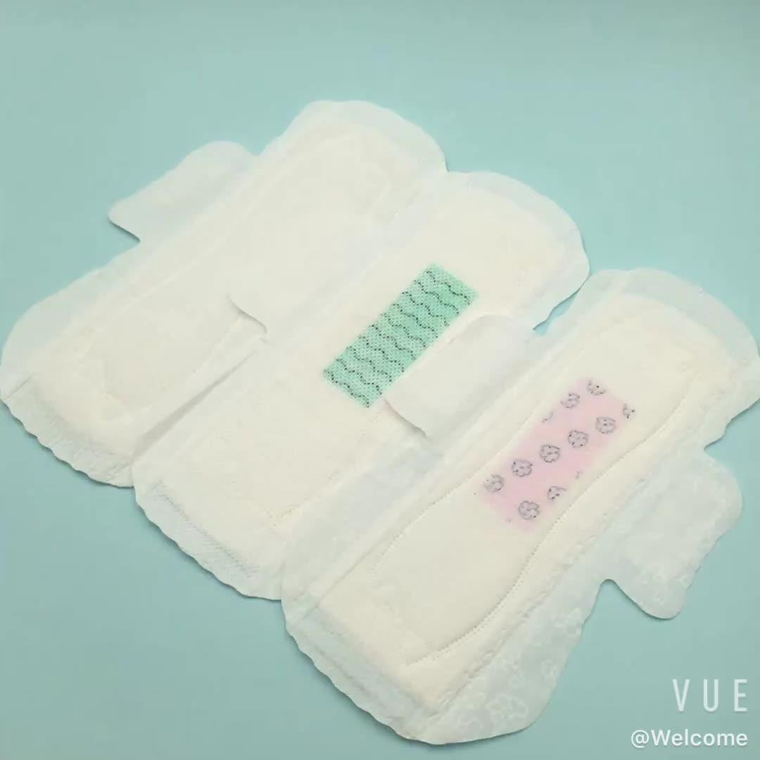 Bana zaman dönem pedleri kadınlar için kızlar markaları sıhhi havlular kadın hijyen ürünleri tıbbi peçete