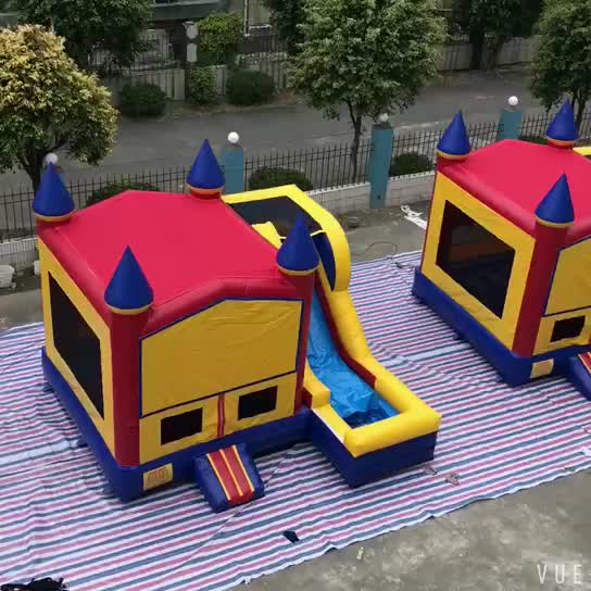 PVC Material China Cheap Children Small Bouncers Combo Jumping Inflatable Slide Bouncer Castle House For Sale
