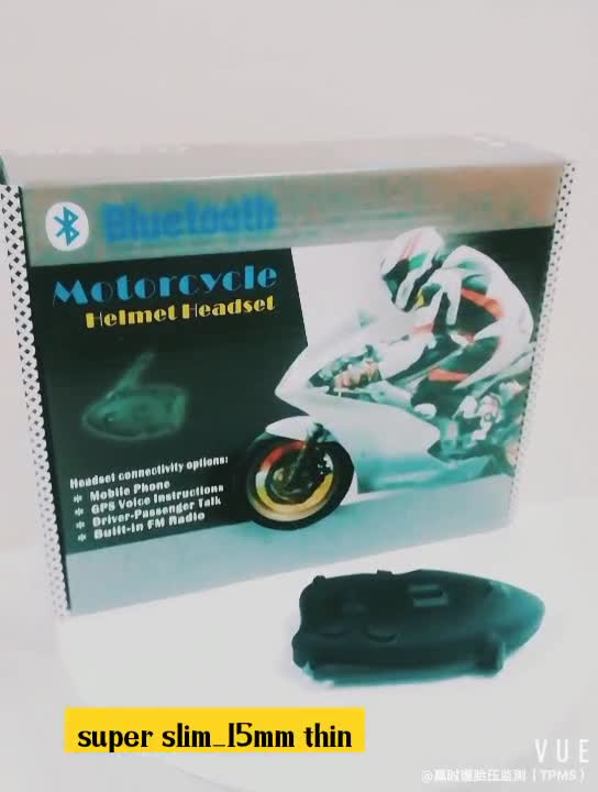 Moto Intercom Helmet Bluetooth Headset Handsfree