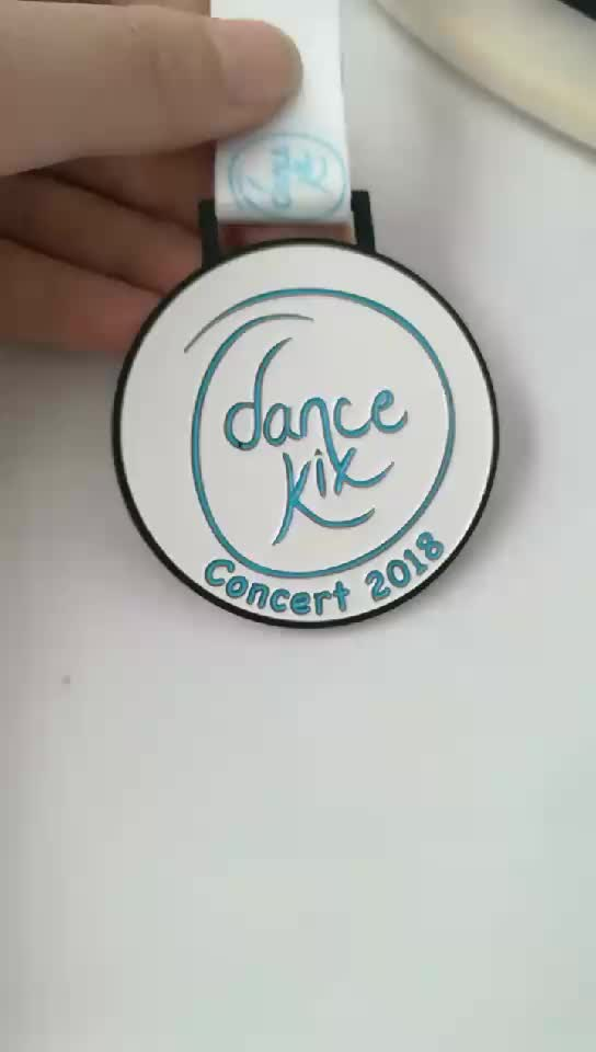 Wholesale custom metal dance medals made in china