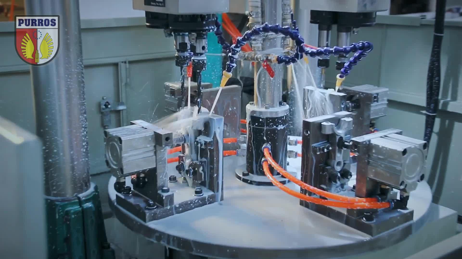Special Purpose Machine, Rotary Multi Station Drilling & Tapping Machine,Customize SPM Machine