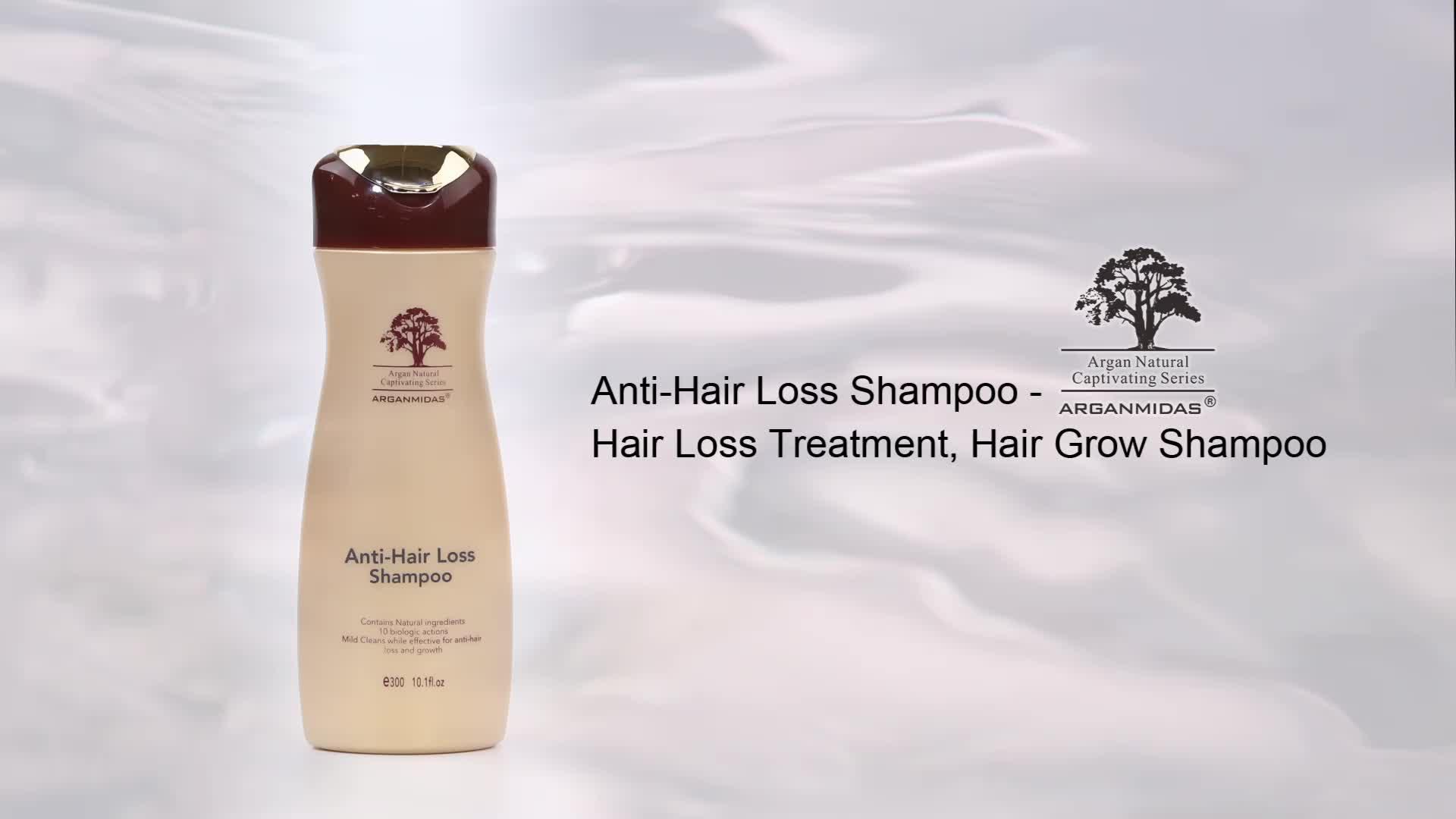 Commercio all'ingrosso Private Label Ricrescita Dei Capelli Essenza Crescita Dei Capelli Anti-Perdita di Capelli Shampoo