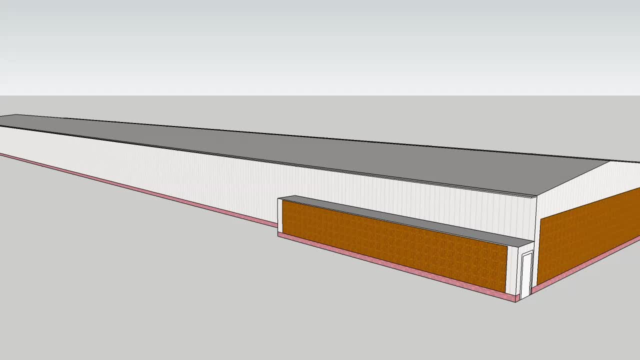 Design Structural Steel Poultry Building Swine Farm Shed