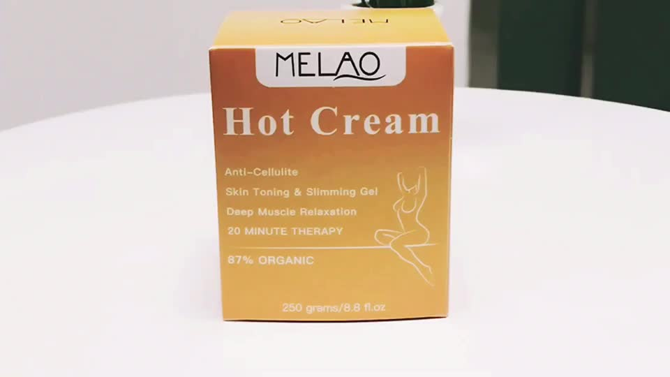 Shaping Waist & Abdomen and Buttocks Professional Cellulite Firming Body Fat Burning Massage Hot Cream Slimming Cellulite Cream