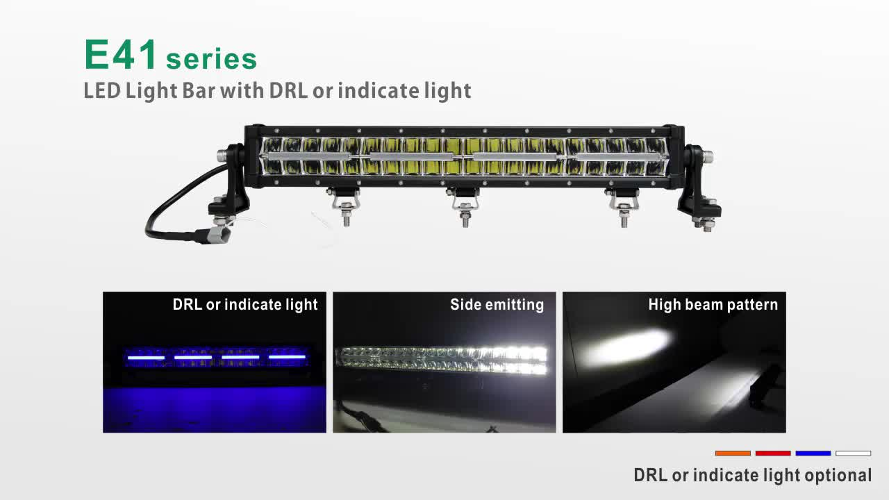 22inch 120W Wholesale Price  Bright Dual Row Led Bar For Truck Car Offroad ATV