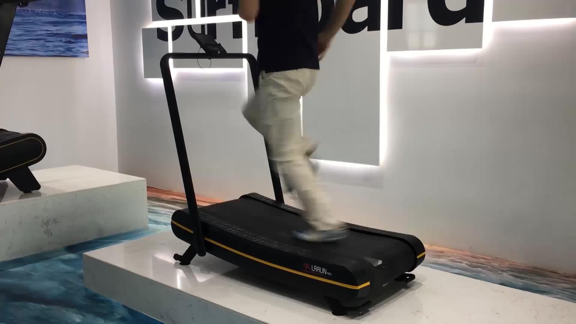ลู่วิ่งโดยไม่ต้องไฟฟ้าแบบพกพา treadmill home gym อุปกรณ์ลู่วิ่ง air runner การออกกำลังกายเดินเครื่อง