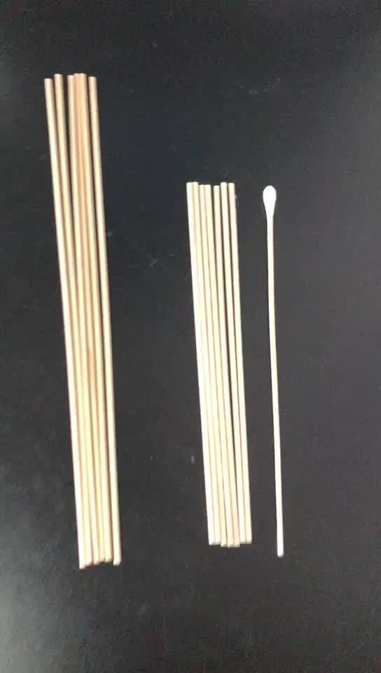 Çevre dostu tıbbi steril q ipuçları saf q-ipuçları qtip bambu ahşap ahşap plastik çubuk pamuklu çubukla tomurcukları