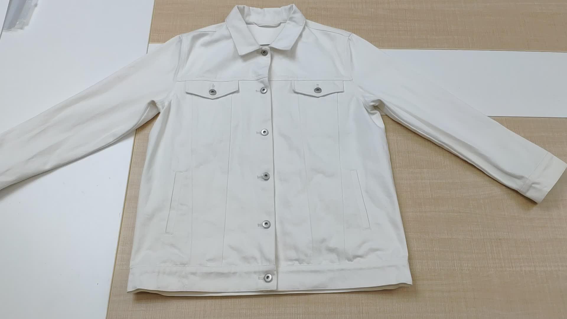 2020 OEM 卸売ブランクバーシティジャケット黒のデニムジャケット