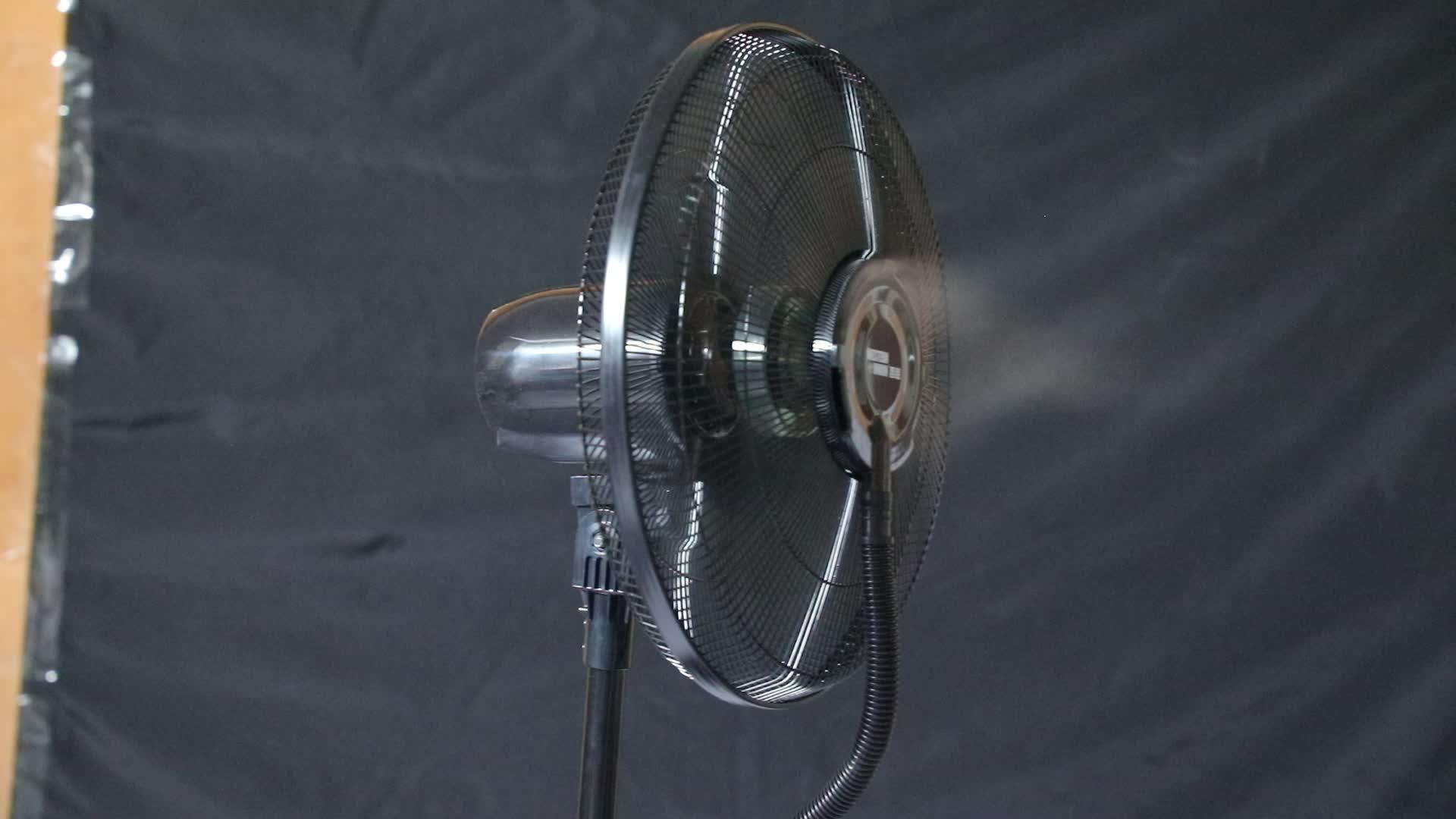 groothandel afstandsbediening 16 inch ultrasone luchtbevochtiger lucht binnenshuis staande spray koelwater mist ventilator