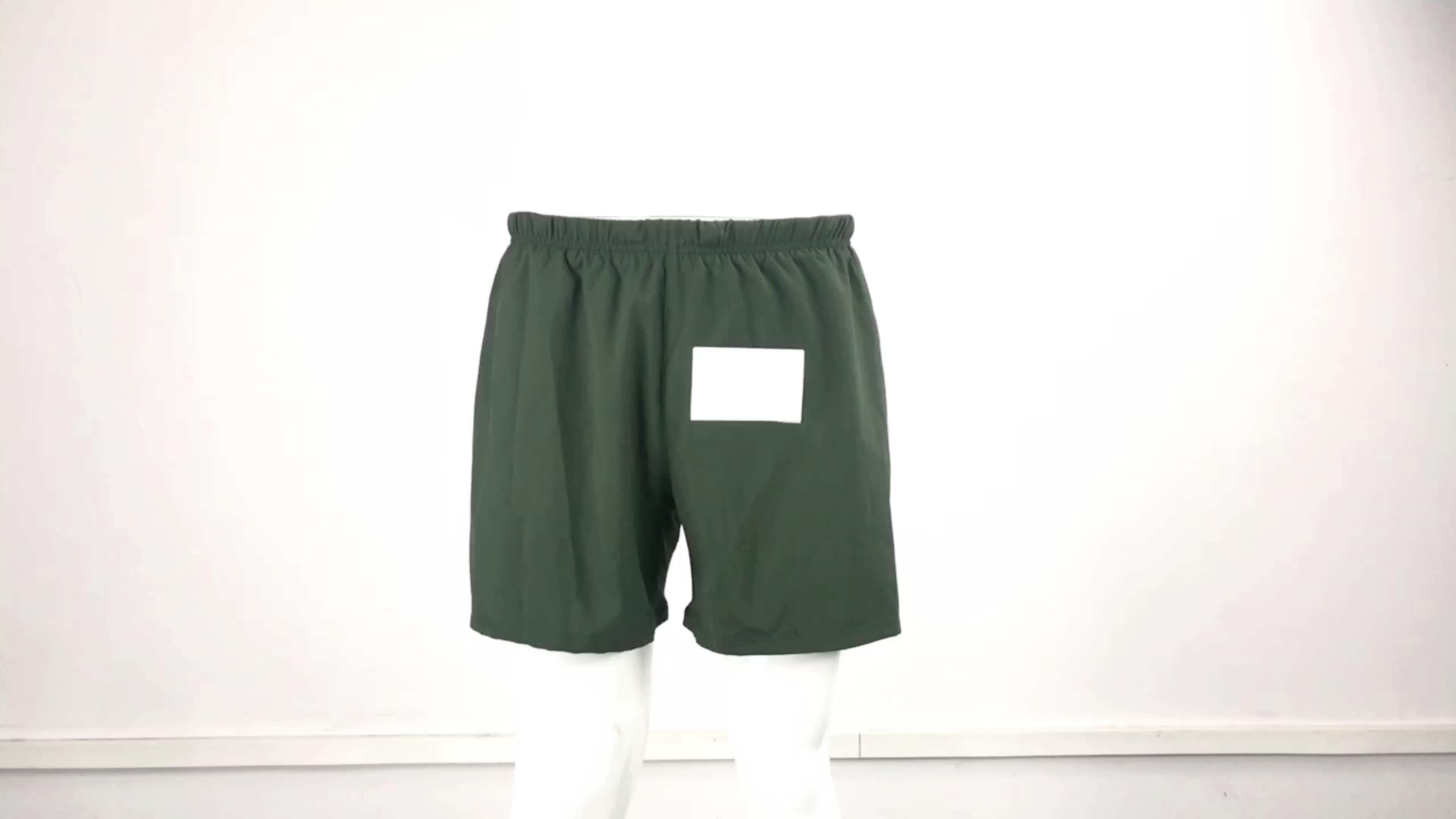OEM 망 스판덱스 숏 스포츠 Gym Shorts Pants 꽉 Men's 레깅스 공장 Custom 도매