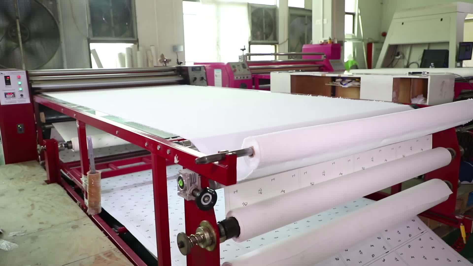 1700*420 calander heat press machine roller  sublimation printitng transfer machine for cloth fabric