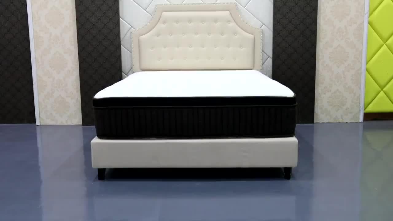 D37 Diglant 5 yıldız yatak odası şişme cep bahar 12 inç kraliçe kral xxxn köpük bellek yüksek kalite lateks otel yatağı