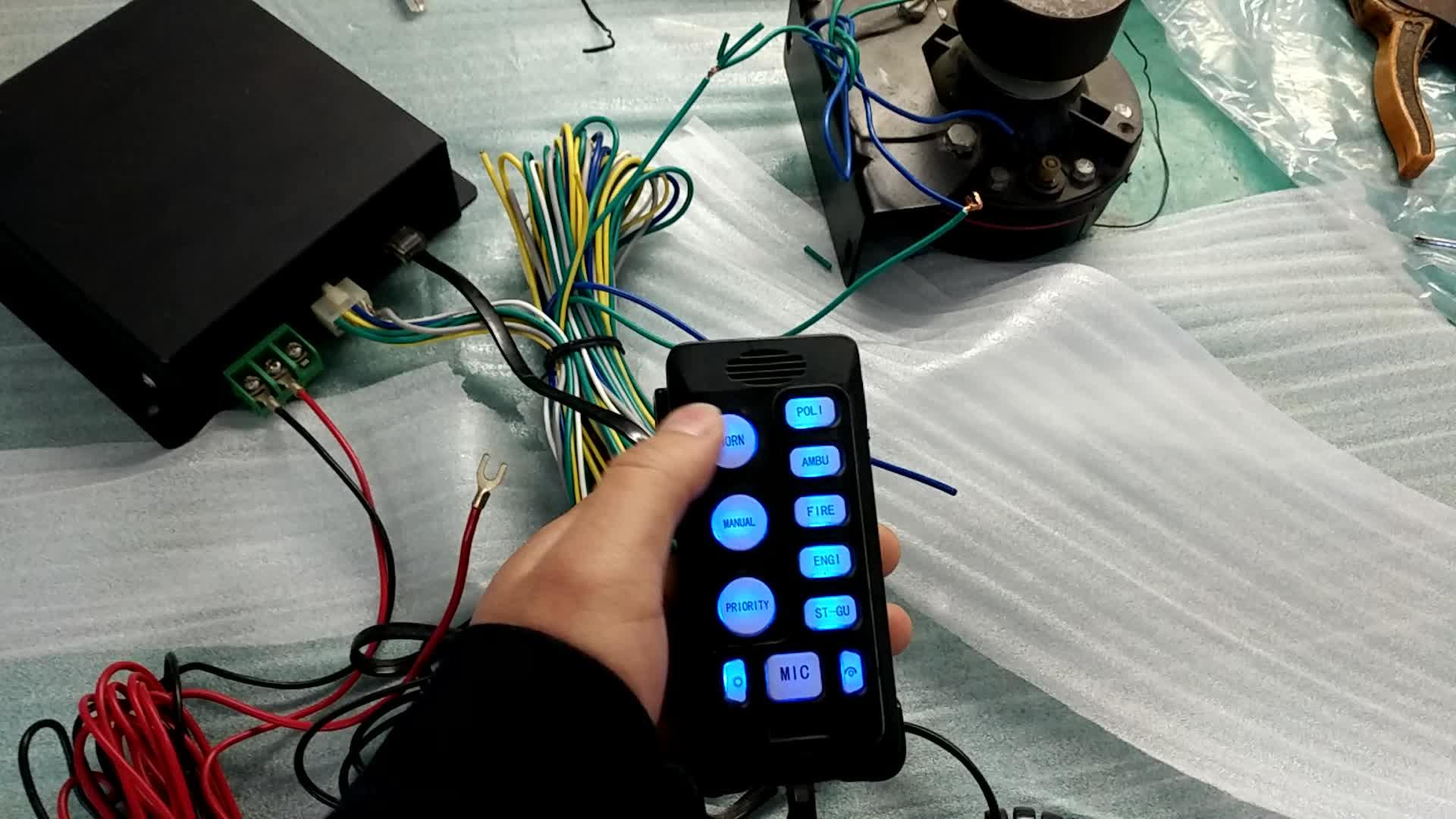 Factory price car siren / siren speaker 200w LHZ-200MK2