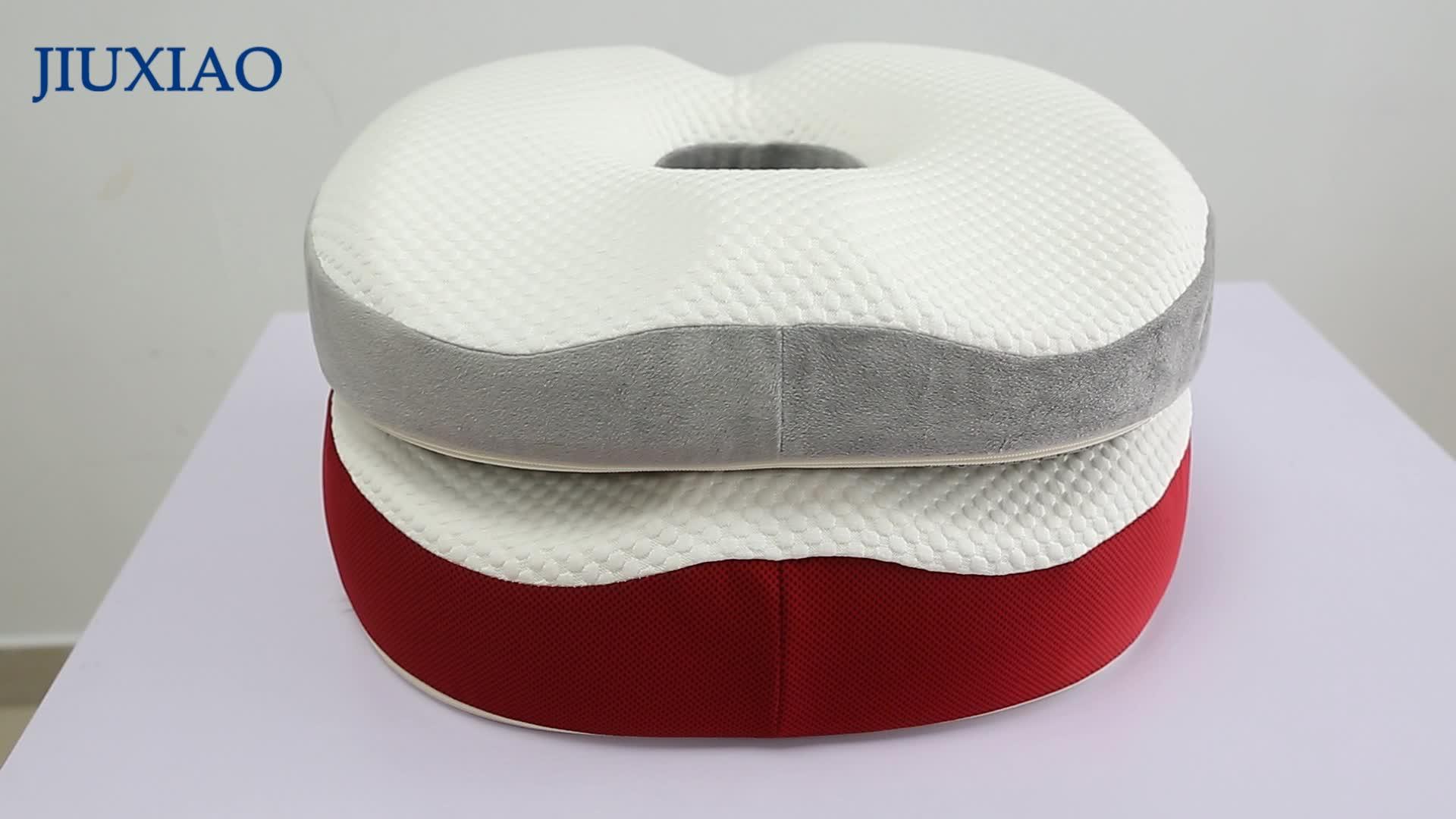 カスタマイズされた形状の oem 専門ラテックスメーカー中国血液循環シートクッション