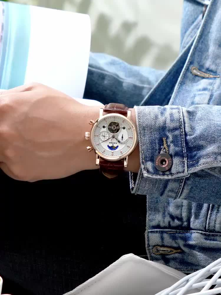 KINYUED  fashion men watches