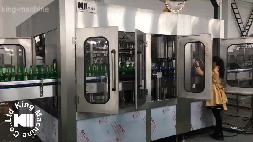 New tech craft beer botting line made in China for sale