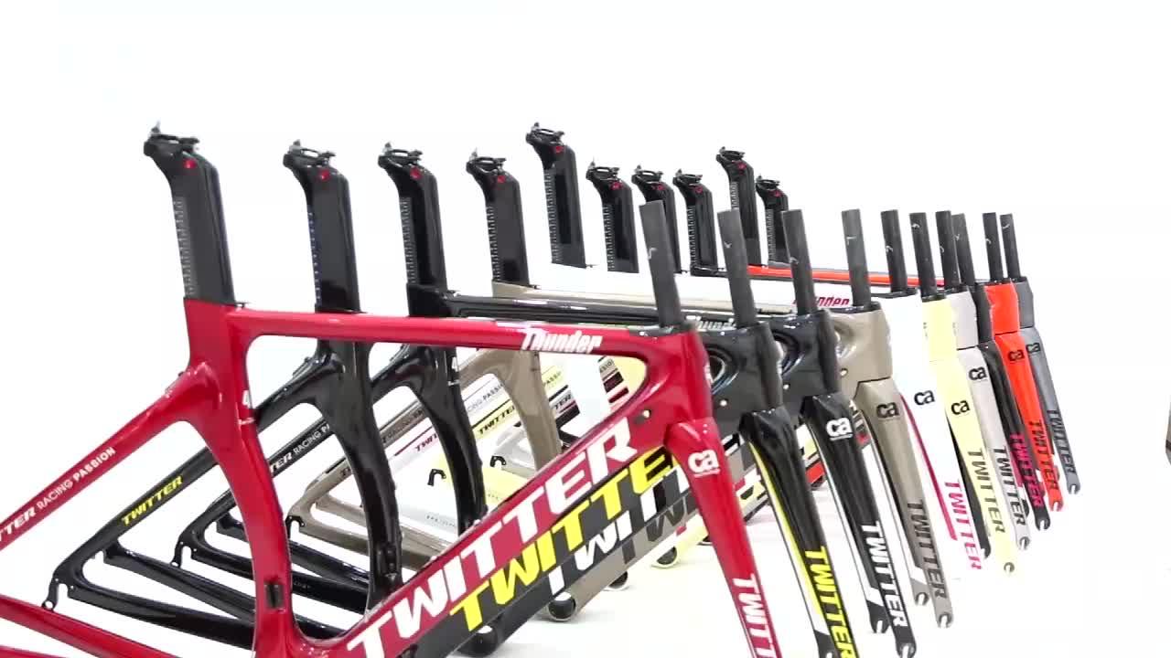 Aero tasarım EPS gizli kablolar karbon yol bisikleti bisiklet şasisi