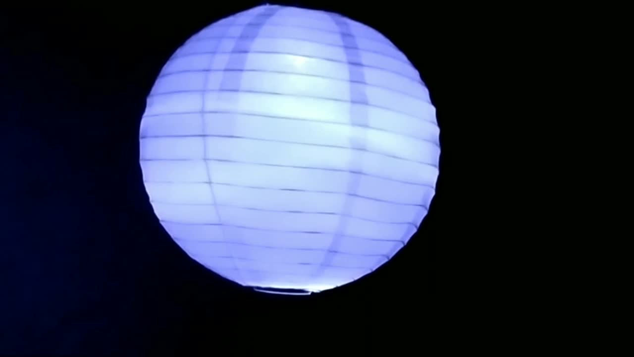 Groothandel Handgemaakte Opknoping Witte Ronde Tissue Lamp Led Papieren Lantaarn