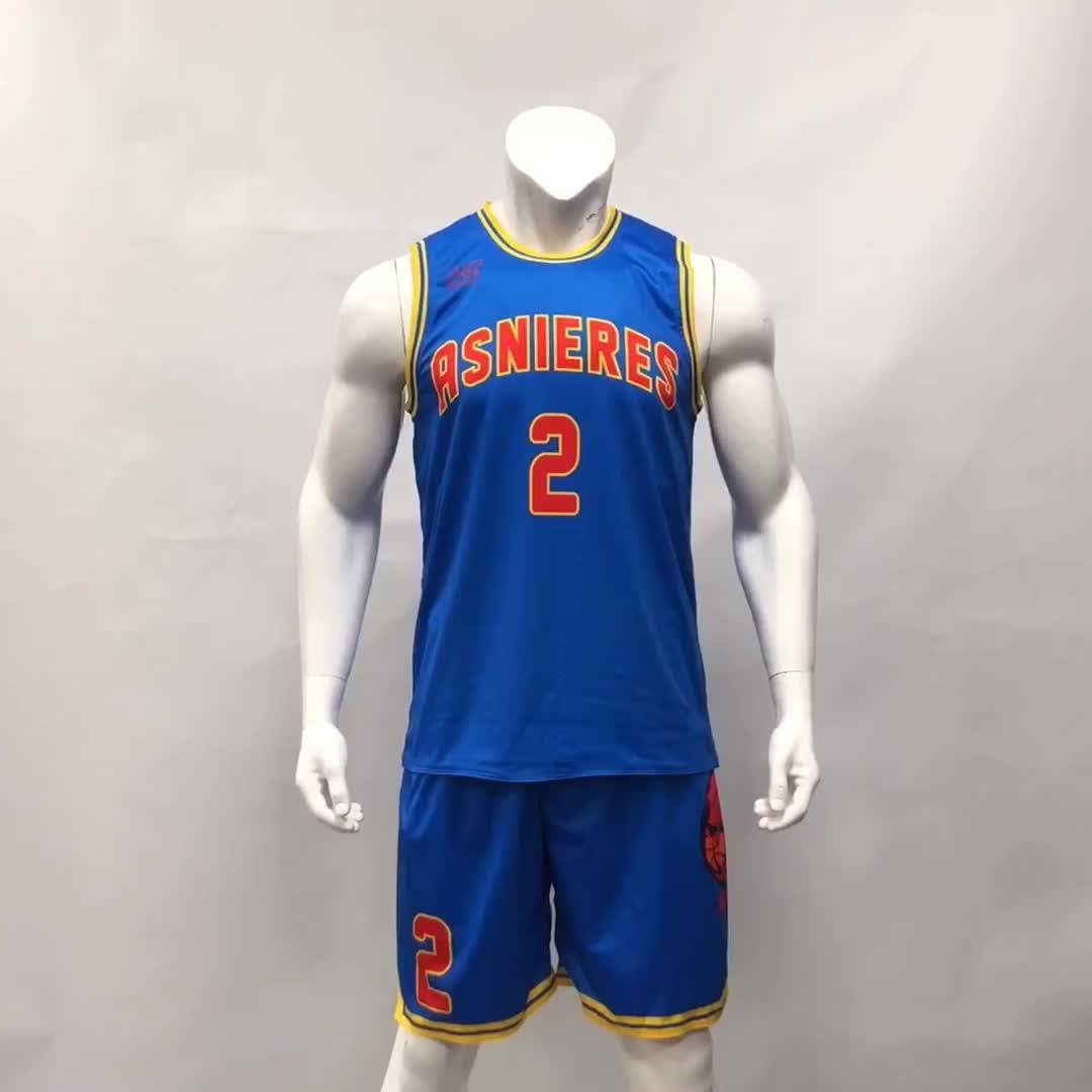 Benutzerdefinierte Billig Hochwertige Basketball Uniform Mesh Blank Reversible Großhandel Männer Basketball Jersey