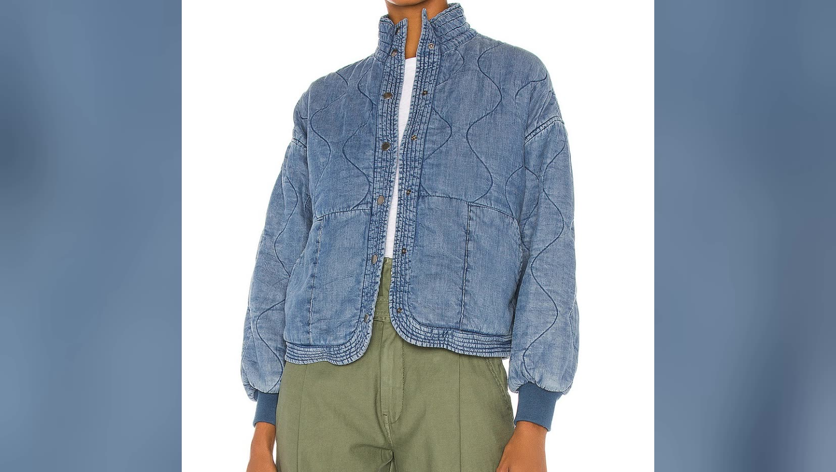 Casual Jacket Long Sleeve Blue Denim Fitted Jeans Jackets Ladies Street Wear Fashion Out Wearing