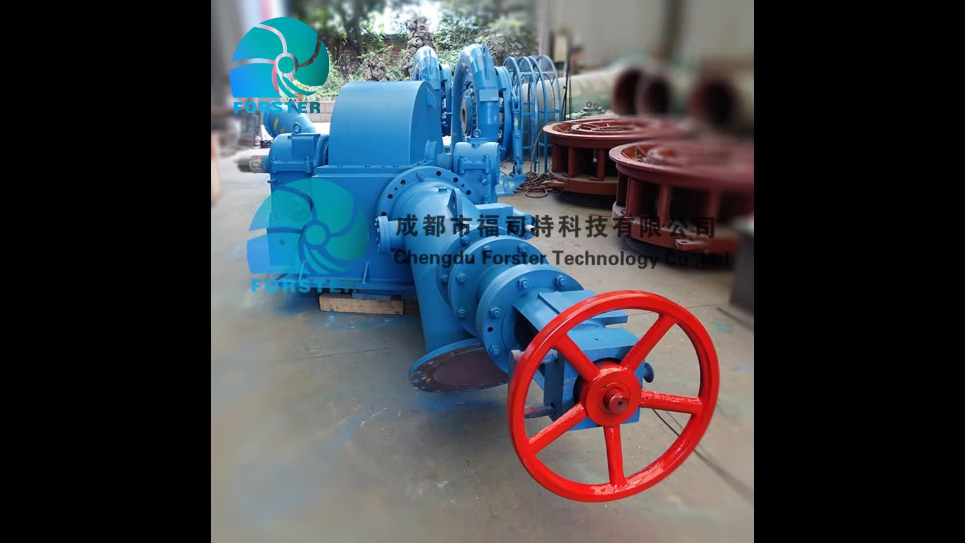 Hot sale high efficiency low price entire control system mini hydro power plant for equipment supply