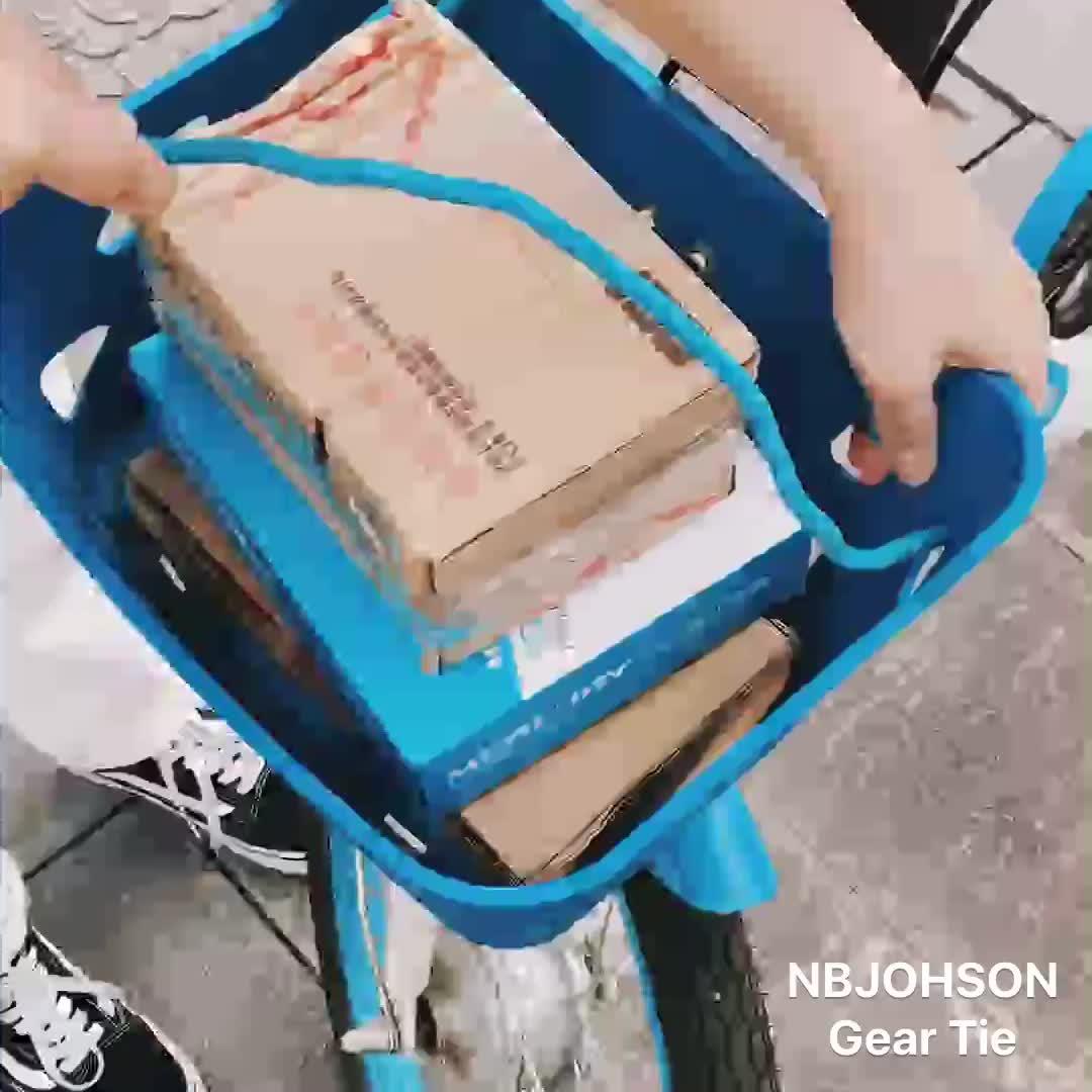 In gomma Resistente AI RAGGI UV Impermeabile Imballaggio Vincolante Riutilizzabile Legame di Torsione Gear Tie