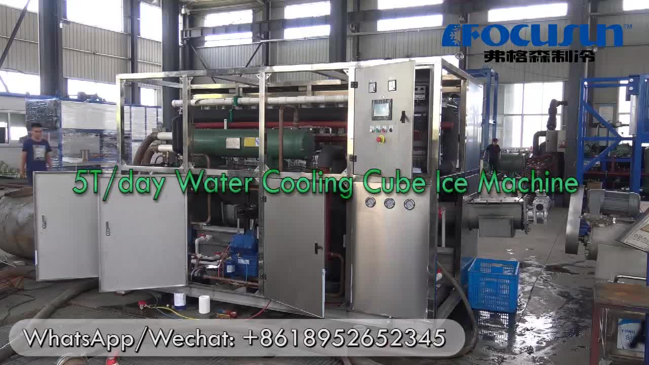 2019 Hot sale ice maker/ ice cube maker/ ice making machine for making ice cube with imported compressor and stainless steel she