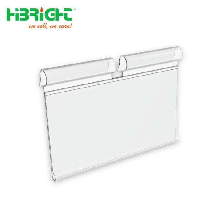 Hanging Shelf Label Holder