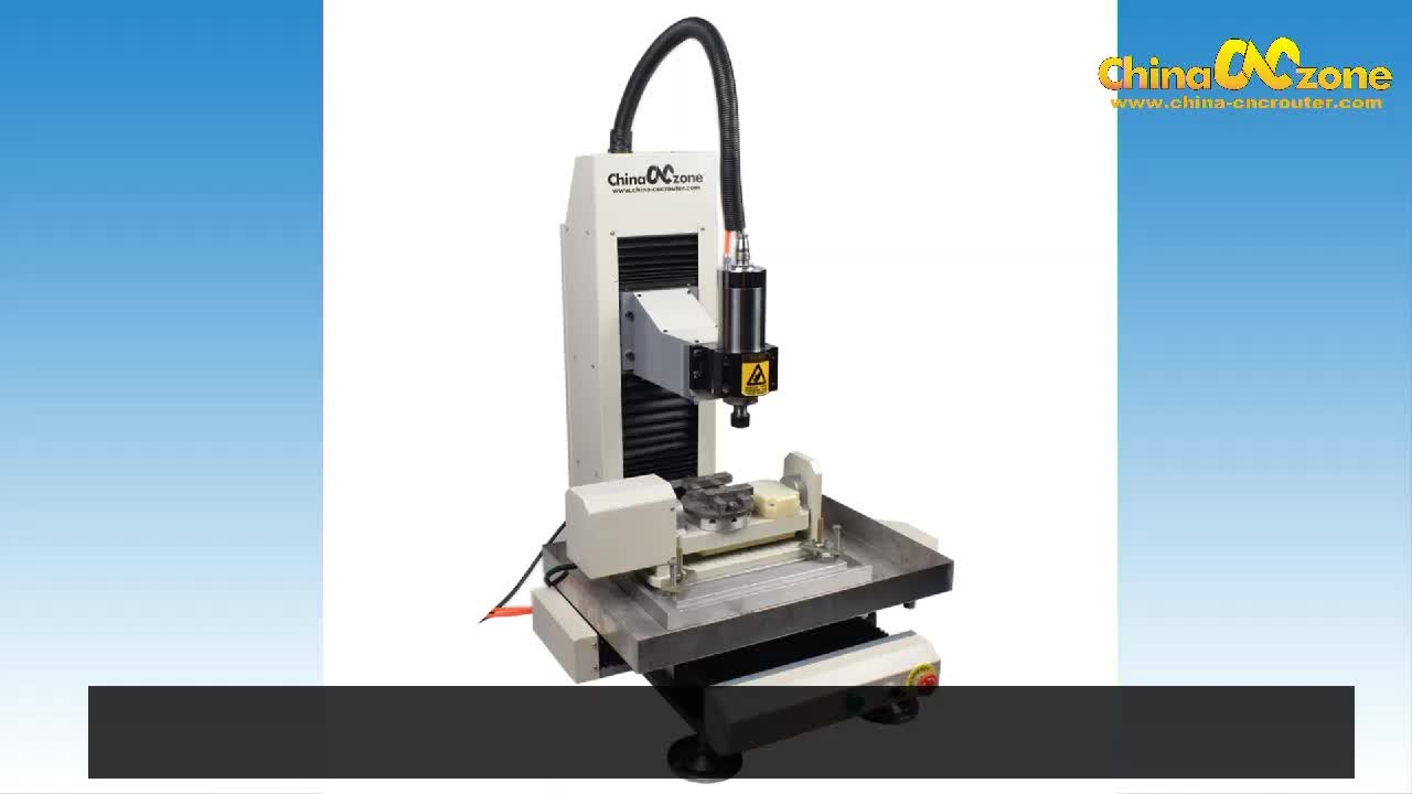 Máy tính để bàn Nhỏ 5 trục cnc máy phay đứng nhỏ cho kim loại giá tốt
