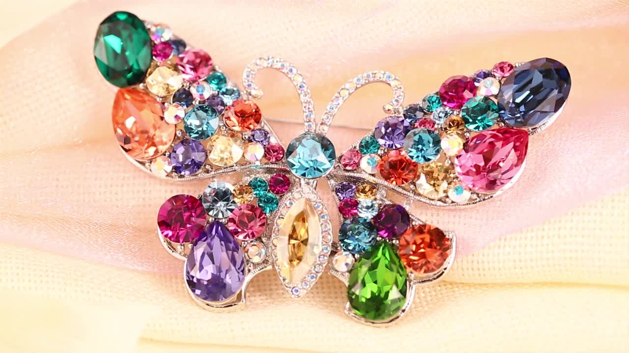 brooches 167 Xuping fashion gold wedding brooch jewelry for women