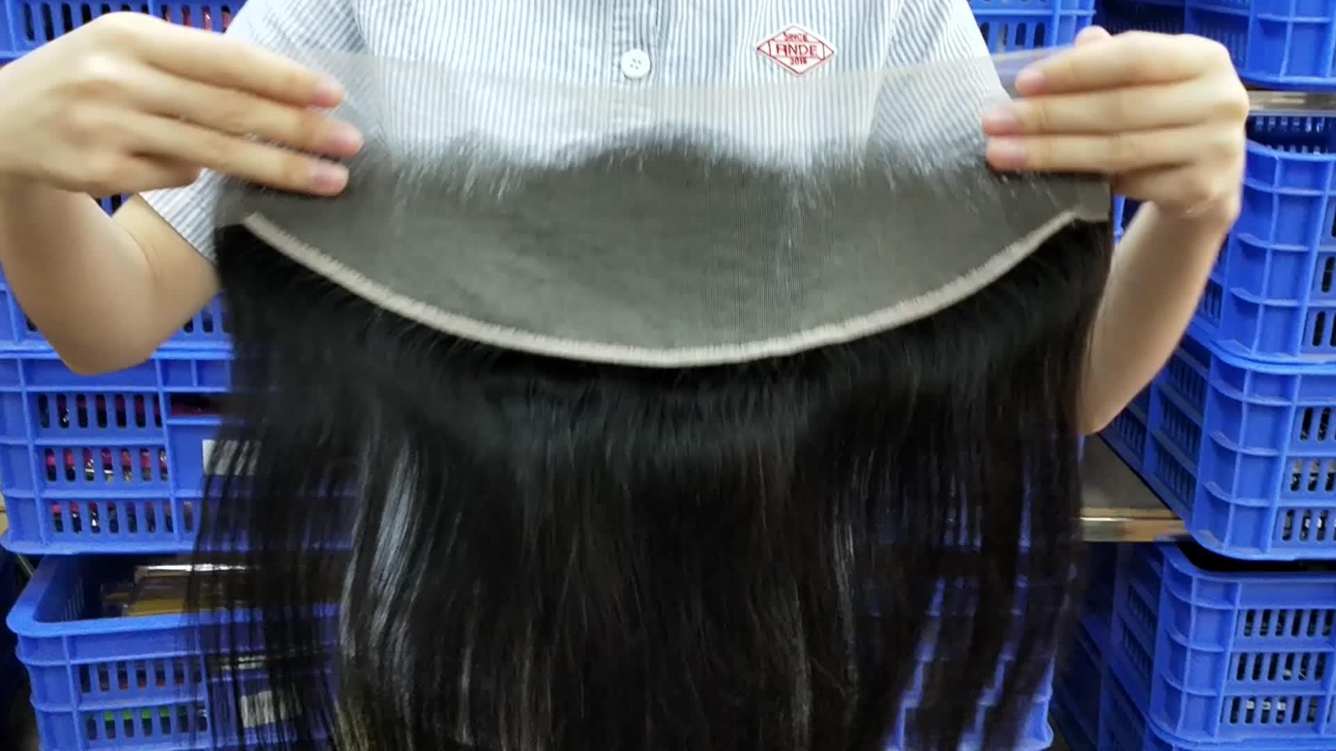 Brazilian 1b Body Wave Straight Loose Wave 613 Ear To Ear Swiss 4x4 5x5 6x6 13x4 Frontal Closure Human Hair And HD Lace Closure