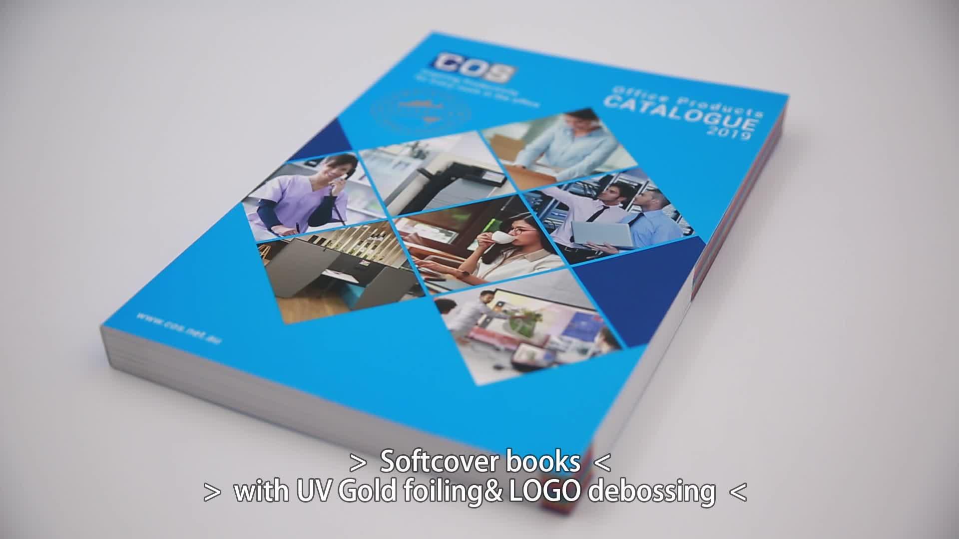 Gigo Cucitura a Sella Soft Cover Brochure Catalogo Stampa Comic Stampa Del Libro