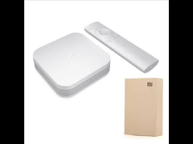 Original Global Xiaomi Mi TV Box S 4K  Android TV WIFI Google Cast Netflix IPTV Set top Box 4 Media Player