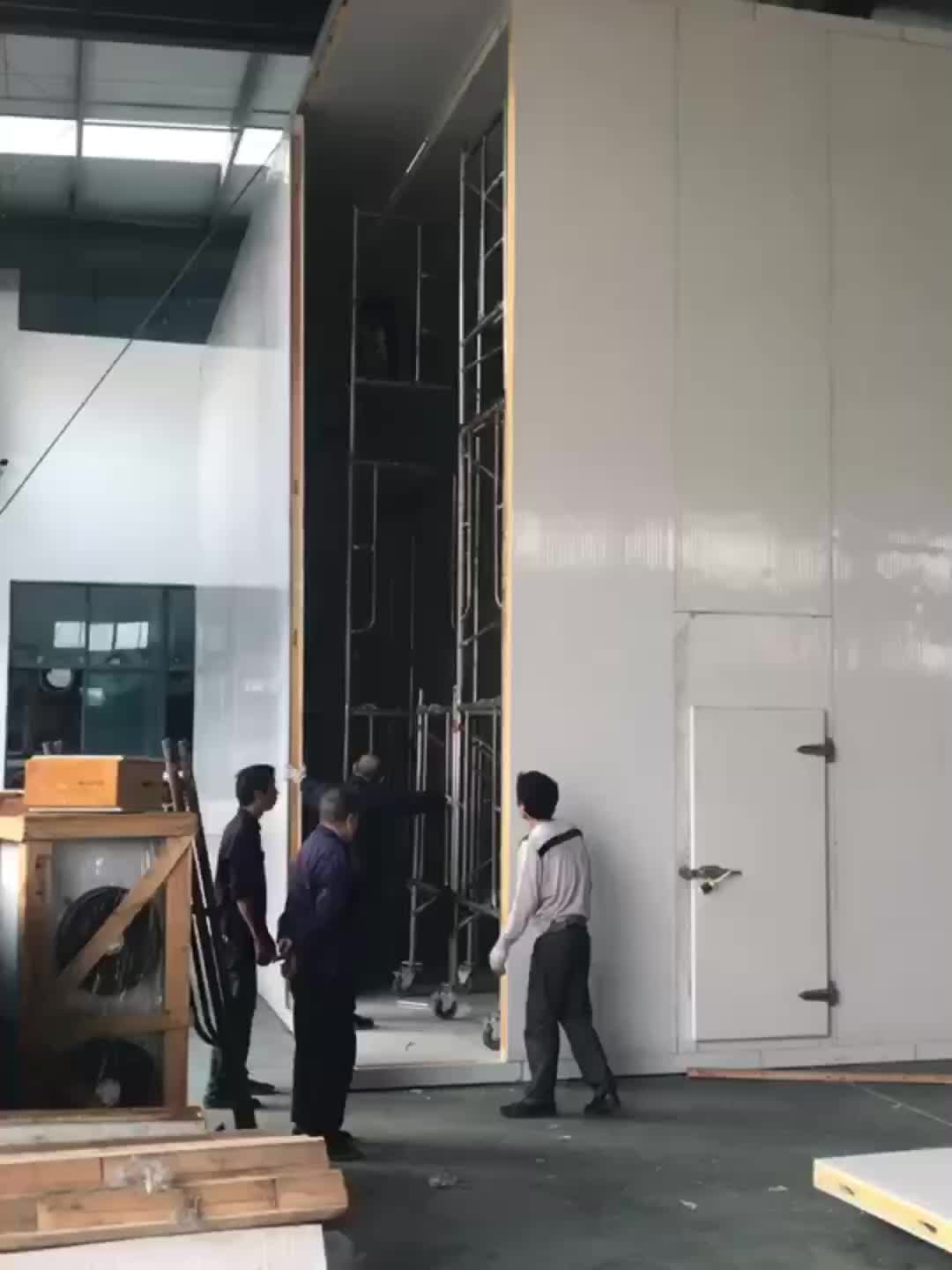 food store solar powered cold rooms function from China